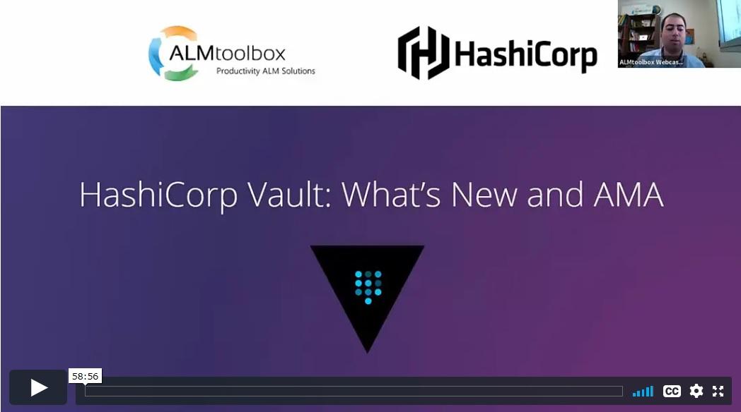 hashicorp vault webinar recording