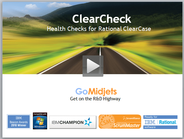 ClearCheck Health Checks and preventive maintenance for ClearCase