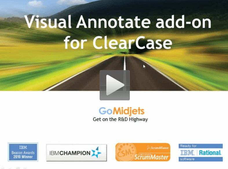 Visual Annotate for ClearCase webcast