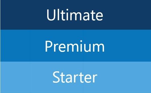 gitlab starter premium ultimate
