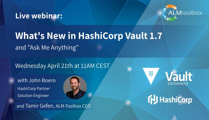 hashicorp vault 1.7