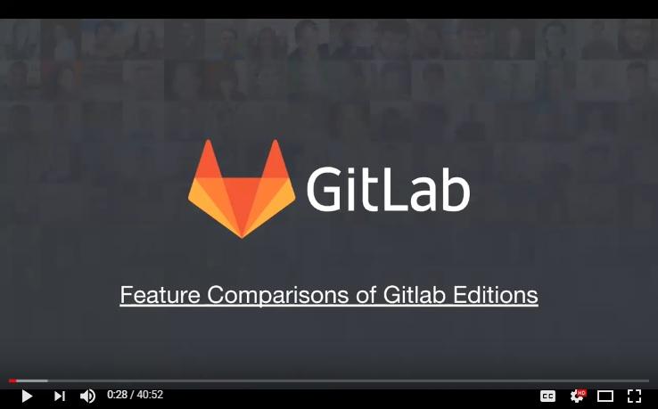 Regardez une démonstration en direct de GitLab Premium Enterprise Edition